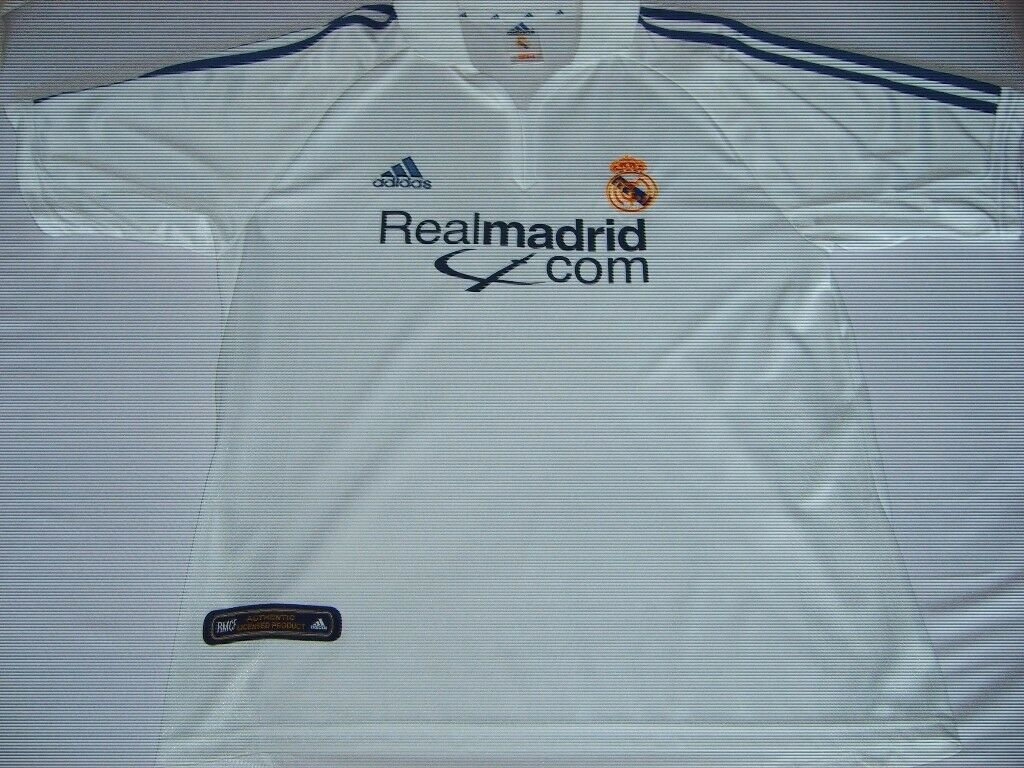 pretty nice b1e75 2380e Retro Real Madrid home jersey/shirt, 2001-2002 | in Leicester,  Leicestershire | Gumtree