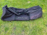 MacLaren Single Stroller Bag on wheels