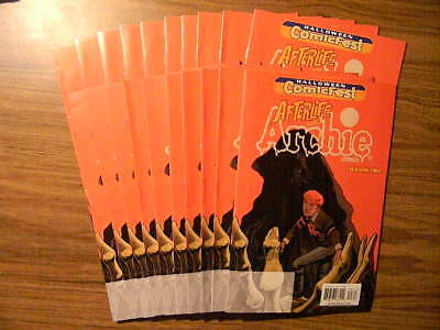 1 AFTERLIFE WITH ARCHIE #1 Halloween Comic Fest 2016 Lot: 10 ISSUES! UNSTAMPED!