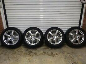 """Porsche Panamera Alloys Wheels and Tyres (Continental). 18 inch 18"""""""