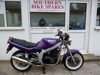 1997 Suzuki GS400E 36,564km (22,719 miles) Respayed Metallic Purple Twin Cylinder GS 400 E