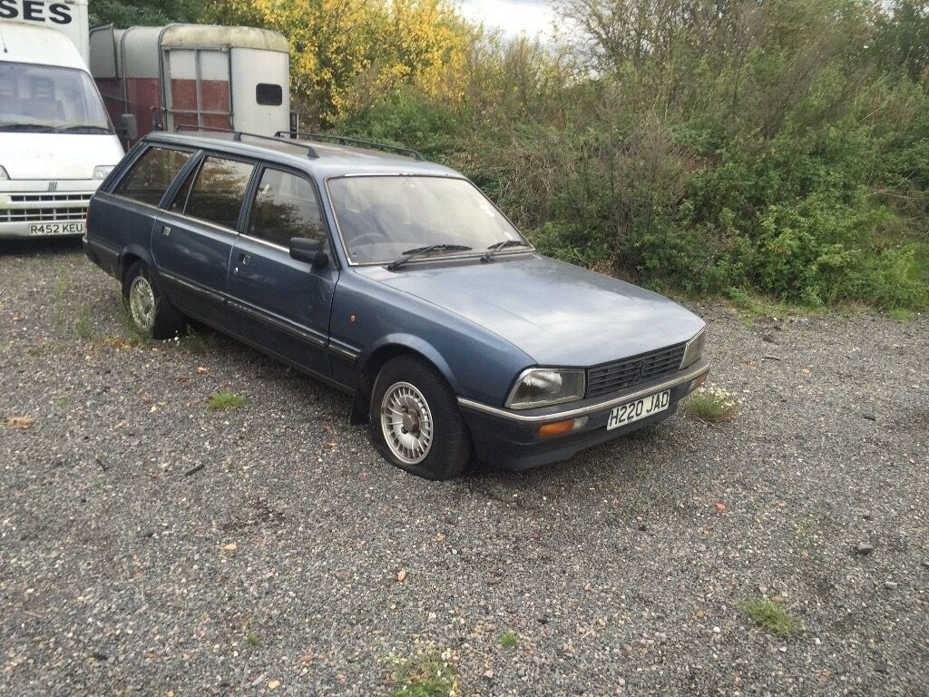 Peugeot 505 estate very rare