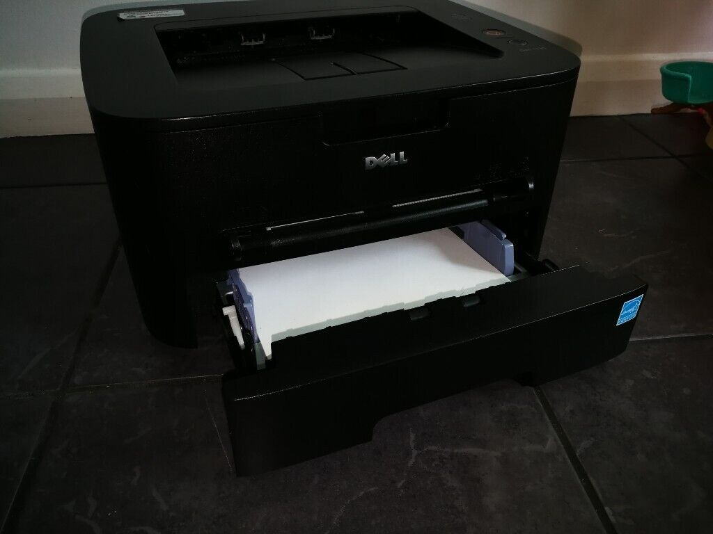 Black Dell 1130 printer with toner | in Hedge End, Hampshire | Gumtree