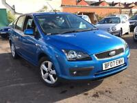 Ford Focus 1.8 Zetec Climate 2007 + FULL FORD SERVICE HISTORY + 12 MONTHS MOT
