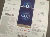 Justin Bieber last London performance. 29th of Nov Floor seated B2 row Z