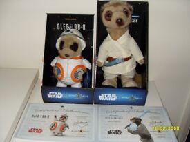 Star wars oleg BB-8 & luke skywalker