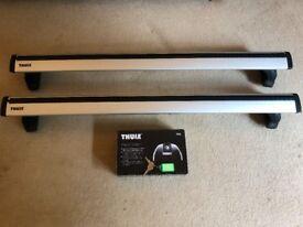 Thule 960 Wingbars & Thule 753 Footpack
