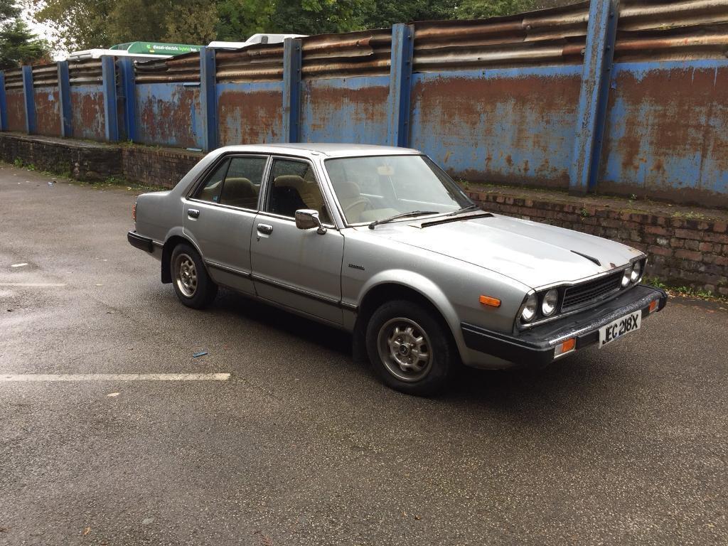 Honda Accord 1980 EX X Reg Manual Rare Classic Barn Find Runs