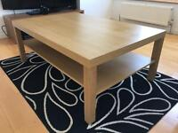Coffee Table - Lack (IKEA) - Oak Effect