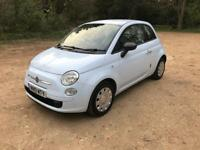 2010 FIAT 500 1.2 IN BLUE, 3 DOOR HATCHBACK, £30 A YEAR TAX, NEW MOT, DRIVES WELL