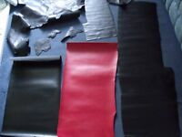 Vintage Leather & Vinyl? Pieces For Craft/Repair/Patch/Sewing - Viewing Welcome - £10 per piece ONO