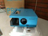 projector - vintage prinz astra xl slide projector - still in original box  with original packing