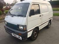 Daihatsu Hijet 1.2 small Diesel Van Full MOT Not Rascal carry Very Low Mileage