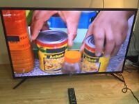 "43""SAMSUNG SMART LED 4K ULTRA HD TV"
