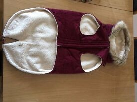 Dog's Winter Coat (made by Canada Pooch for medium sized dog) - New