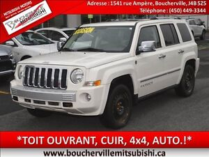 2008 Jeep Patriot Limited*CUIR, TOIT OUVRANT, 4x4*