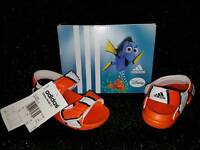 new adidas disney nemo sandels infant size 7