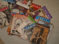 Box of Memo - The Pitman Magazine - Retro Office Fashion - 1960/70's