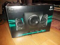 Logitech Z623 2.1 Speaker System for Laptop/PC/Mac - 200 watts