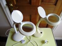 Lamp / Craft lamp x2, in good working order, different prices