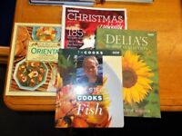 4 x Cook Books…Delia Smith…Rick Stein and 2 others…