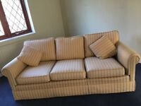 3 and a 1 seat Sofa good condition 80 ono