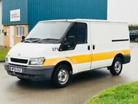 FORD TRANSIT 2.4 TD **AUTOMATIC**2004(04)REG*RARE**EX COMPANY OWNED**