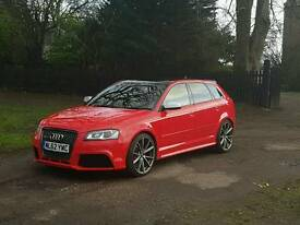 Audi rs3 2012 62 plate