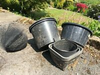 Pond Plant Pots and Tubs - Used
