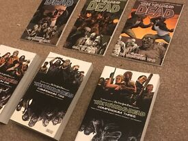 The Walking Dead Compendium Collection + 3 latest volumes. GRAB BEFORE THEY GO!