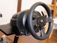 T300RS Thrustmaster wheel with pedals and stand PS3/PS4/PC