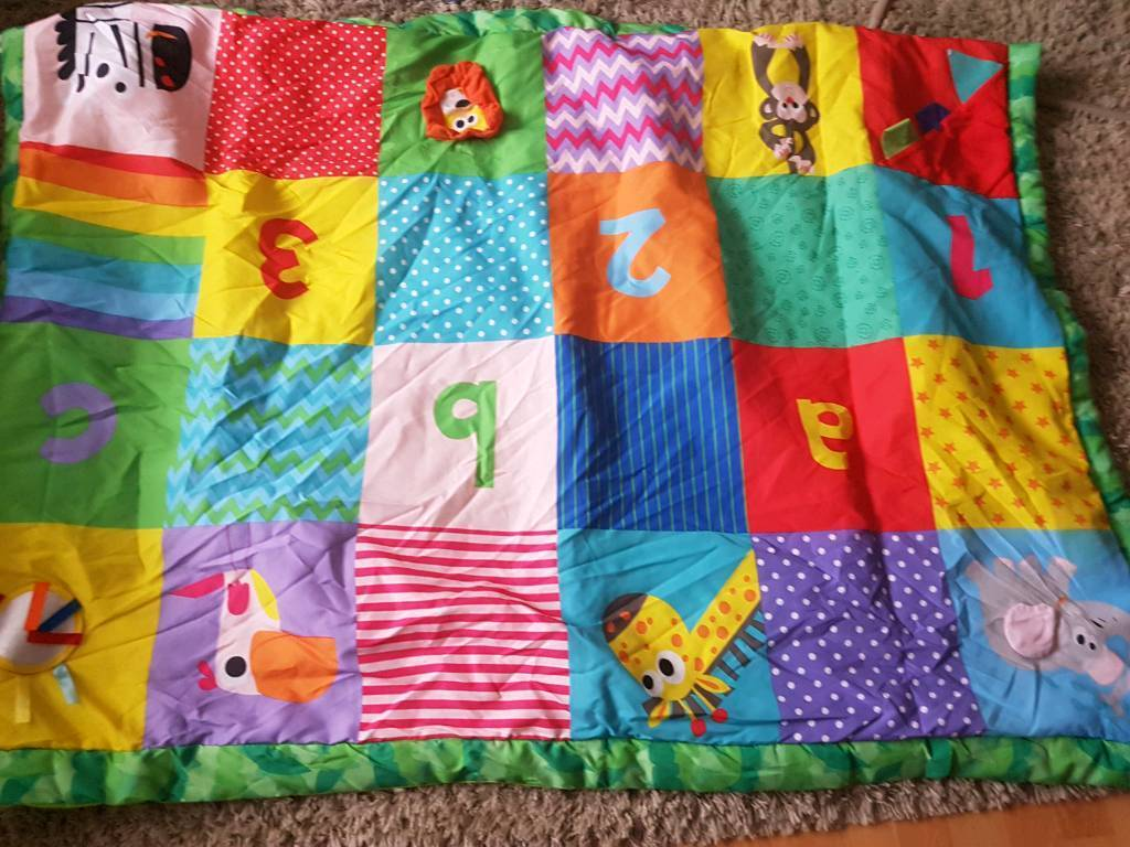chad valley large play mat