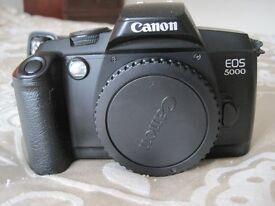 Canon EOS 5000 film camera