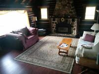Morin Heights Charming LOG HOUSE/Season or yearly