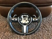 BMW M Sport Multifunction Steering Wheel with Paddle Shift Lim & Cruise buttons