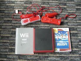 Mini Wii console
