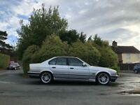 BMW e34 525 tds Silver Automatc diesel 2.5 liter