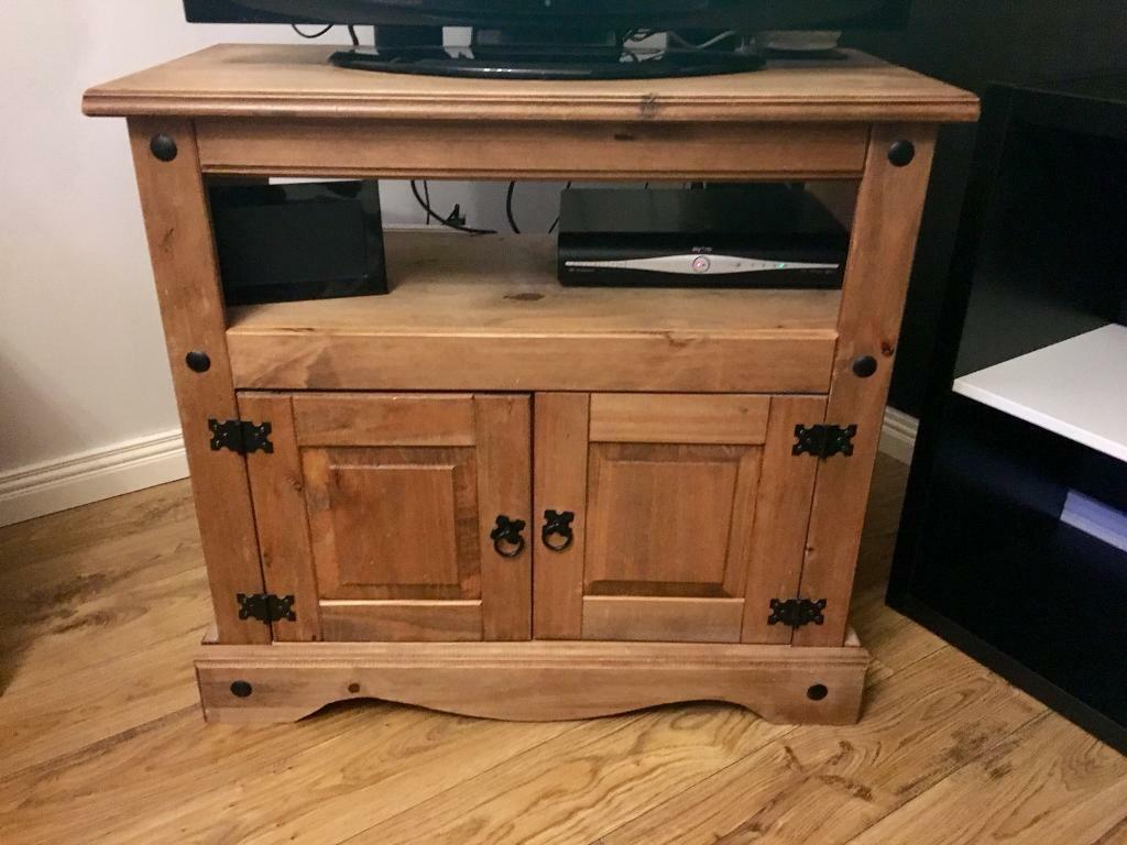 Mexican Pine Tv Unit In Craigavon County Armagh Gumtree # Table Tv En Coin