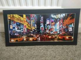 New York unframed pictures