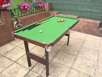 Child Size Pool/Snooker Table