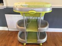 Baby change station