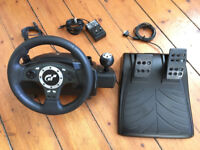 Logitech Wheel with pedals