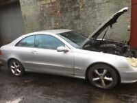 Mercedes Benz clk spare parts available