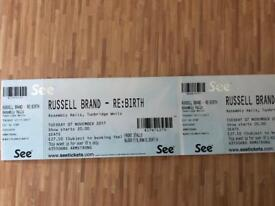 2 x Russell Brand tickets