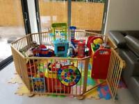 Giant play pen - Strolch 1plus7 oktogon