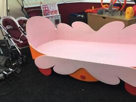 Hand made in the night garden toddler bed