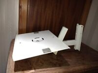 Wall Mounted TV stand - Toy Box / plant stand