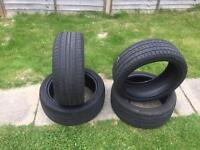 Tyres 2x: 215/45R17 and 2x: 215/40R17