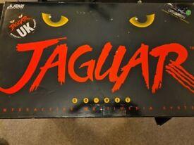 Atari Jaguar, controller, scart cable, cybermorph game,