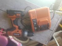 AEG 18V Drill and Charger with one battery